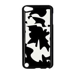 Black and white elegant design Apple iPod Touch 5 Case (Black)