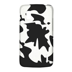 Black and white elegant design LG Nexus 4
