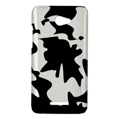 Black and white elegant design HTC Butterfly X920E Hardshell Case