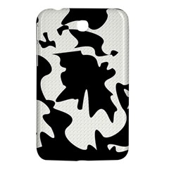 Black and white elegant design Samsung Galaxy Tab 3 (7 ) P3200 Hardshell Case