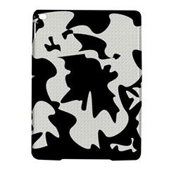 Black and white elegant design iPad Air 2 Hardshell Cases