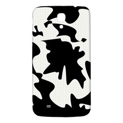 Black and white elegant design Samsung Galaxy Mega I9200 Hardshell Back Case