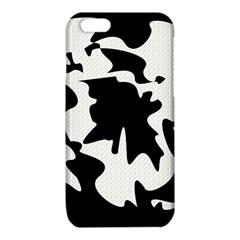 Black and white elegant design iPhone 6/6S TPU Case