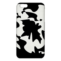 Black and white elegant design iPhone 6 Plus/6S Plus TPU Case