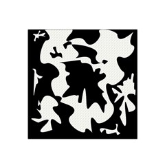 Black and white elegant design Satin Bandana Scarf