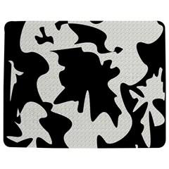 Black and white elegant design Jigsaw Puzzle Photo Stand (Rectangular)