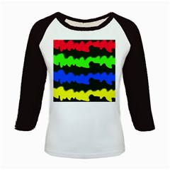 Colorful abstraction Kids Baseball Jerseys