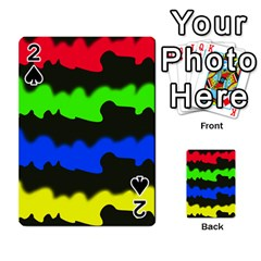 Colorful Abstraction Playing Cards 54 Designs