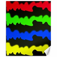 Colorful abstraction Canvas 16  x 20