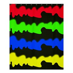 Colorful abstraction Shower Curtain 60  x 72  (Medium)