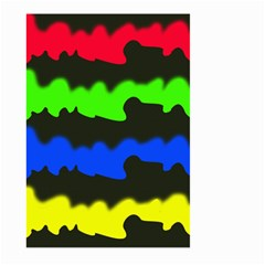Colorful Abstraction Large Garden Flag (two Sides)