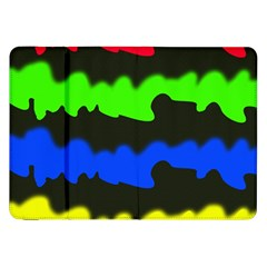 Colorful Abstraction Samsung Galaxy Tab 8 9  P7300 Flip Case
