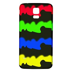 Colorful abstraction Samsung Galaxy S5 Back Case (White)