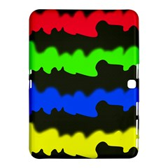 Colorful abstraction Samsung Galaxy Tab 4 (10.1 ) Hardshell Case