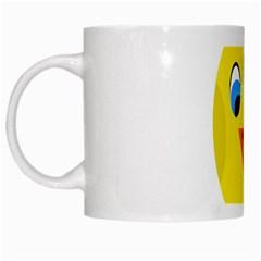 Cute Chicken  White Mugs
