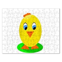 Cute chicken  Rectangular Jigsaw Puzzl