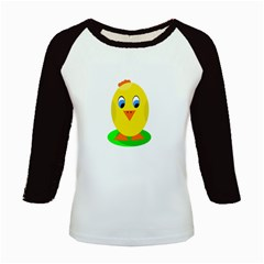 Cute chicken  Kids Baseball Jerseys