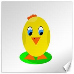 Cute chicken  Canvas 12  x 12
