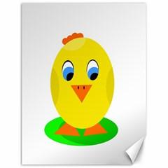 Cute chicken  Canvas 12  x 16