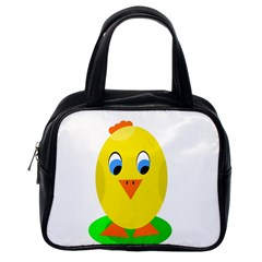 Cute chicken  Classic Handbags (One Side)