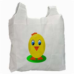 Cute chicken  Recycle Bag (One Side)