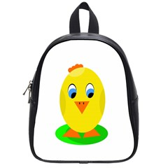 Cute chicken  School Bags (Small)