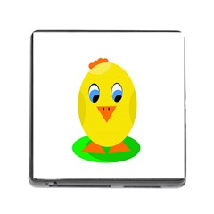 Cute chicken  Memory Card Reader (Square)