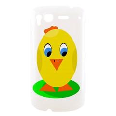 Cute chicken  HTC Desire S Hardshell Case