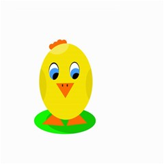 Cute chicken  Small Garden Flag (Two Sides)