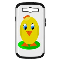 Cute chicken  Samsung Galaxy S III Hardshell Case (PC+Silicone)