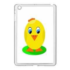 Cute chicken  Apple iPad Mini Case (White)