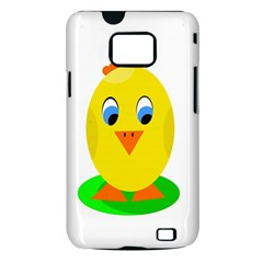 Cute chicken  Samsung Galaxy S II i9100 Hardshell Case (PC+Silicone)