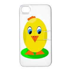 Cute chicken  Apple iPhone 4/4S Hardshell Case with Stand