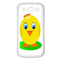 Cute chicken  Samsung Galaxy S3 Back Case (White)