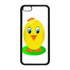 Cute chicken  Apple iPhone 5C Seamless Case (Black)