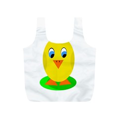 Cute chicken  Full Print Recycle Bags (S)