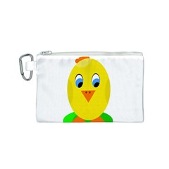 Cute chicken  Canvas Cosmetic Bag (S)