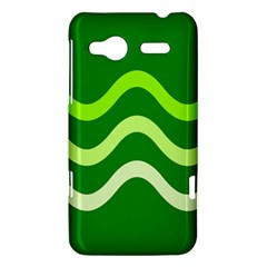 Green waves HTC Radar Hardshell Case