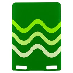 Green waves Kindle Touch 3G