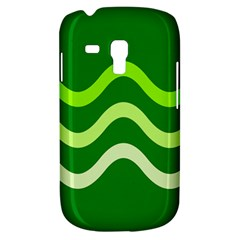 Green waves Samsung Galaxy S3 MINI I8190 Hardshell Case