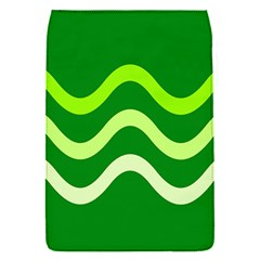 Green waves Flap Covers (S)