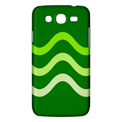 Green waves Samsung Galaxy Mega 5.8 I9152 Hardshell Case