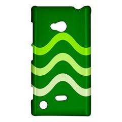 Green waves Nokia Lumia 720