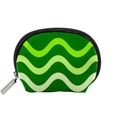 Green waves Accessory Pouches (Small)