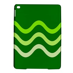 Green waves iPad Air 2 Hardshell Cases