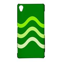 Green waves Sony Xperia Z3