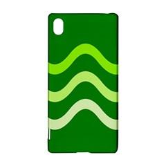 Green waves Sony Xperia Z3+