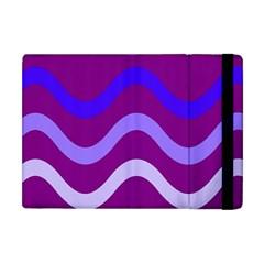 Purple Waves Apple iPad Mini Flip Case