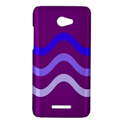 Purple Waves HTC Butterfly X920E Hardshell Case