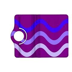 Purple Waves Kindle Fire HD (2013) Flip 360 Case